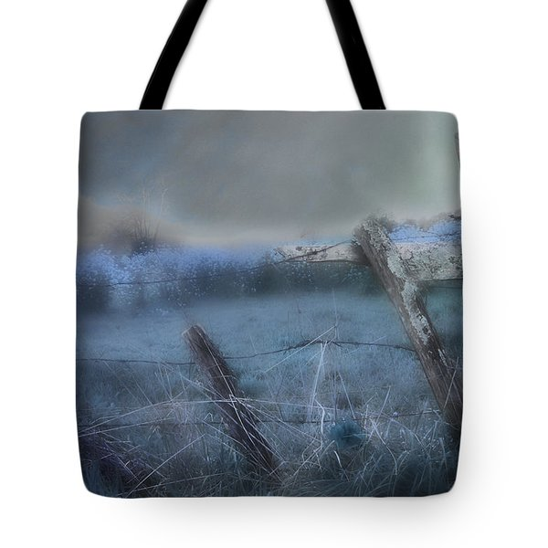 Blue Ridge Morning Tote Bag