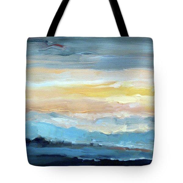 Blue Ridge Mountain Sunset 1.0 Tote Bag