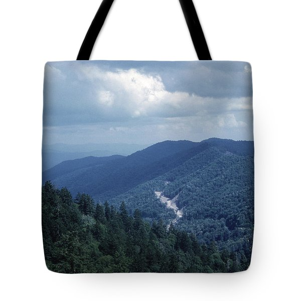 Blue Ridge Mountains 2 Tote Bag