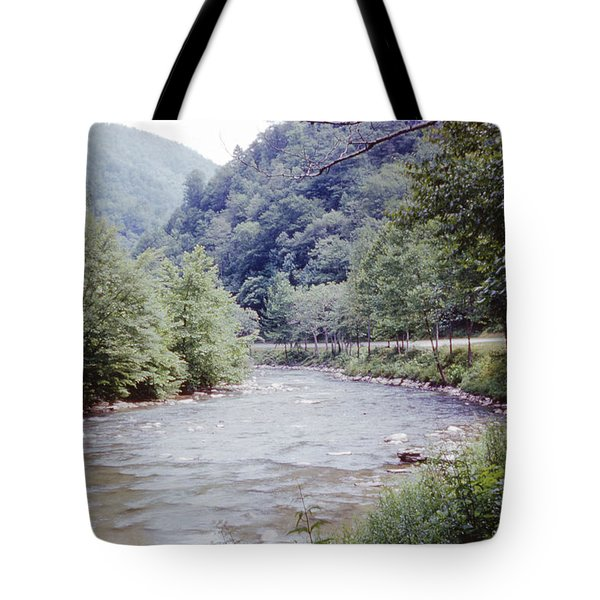 Blue Ridge Mountains 8 Tote Bag