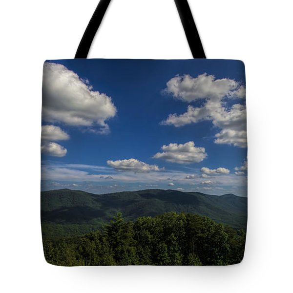 Tote Bag featuring the photograph Blue Ridge Mountains by Barbara Bowen