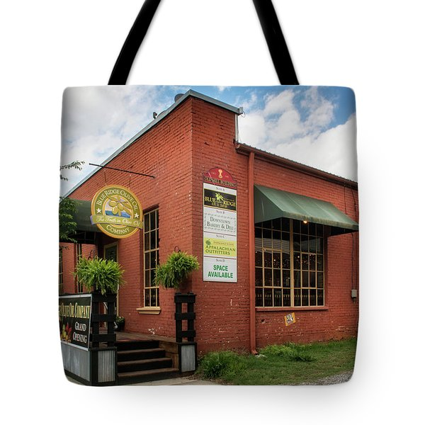Blue Ridge Olive Oil Company Tote Bag
