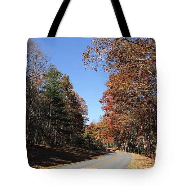 Blue Ridge Parkway Tote Bag