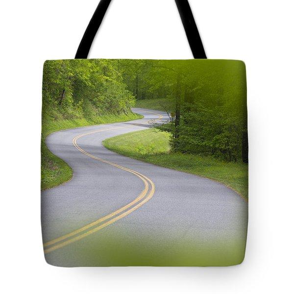 Blue Ridge Parkway Tote Bag