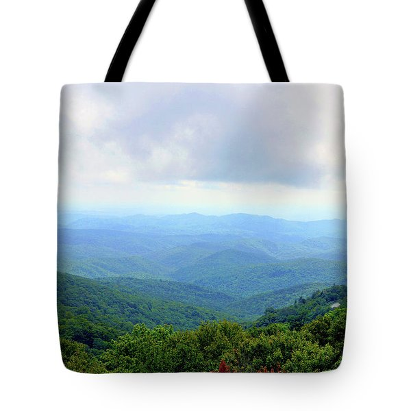 Blue Ridge Parkway Overlook Tote Bag by Meta Gatschenberger