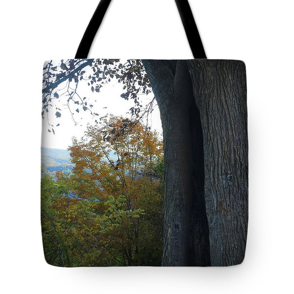 Blue Ridge Parkway Tree Tote Bag