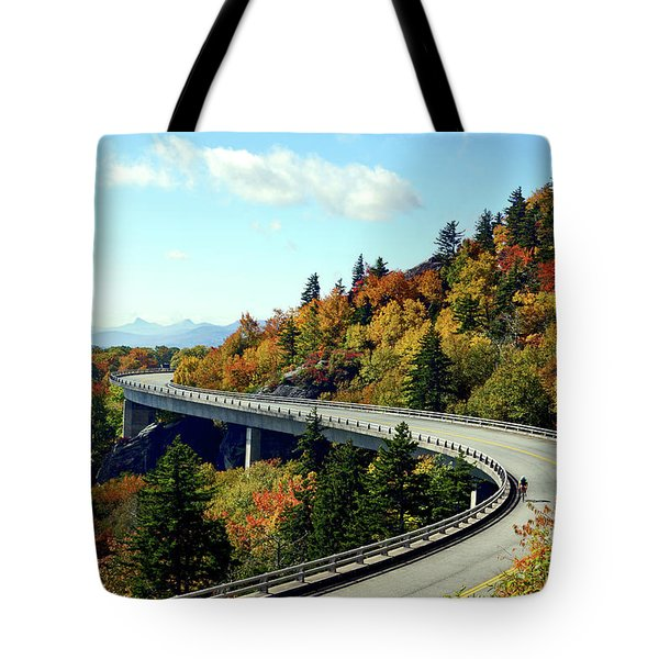 Blue Ridge Parkway Viaduct Tote Bag by Meta Gatschenberger