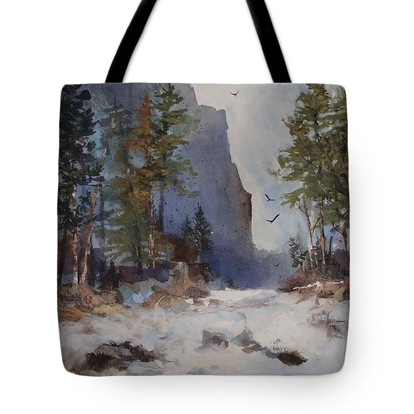Blue Ridge Pass Tote Bag