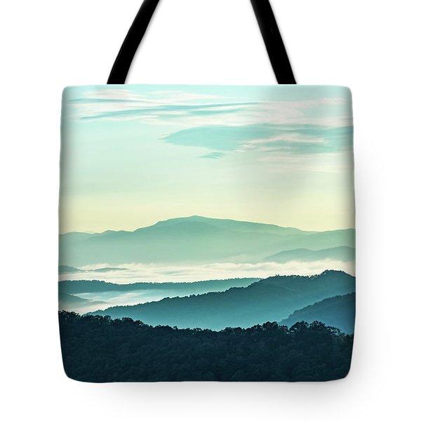 Blue Ridge Pastel Tote Bag