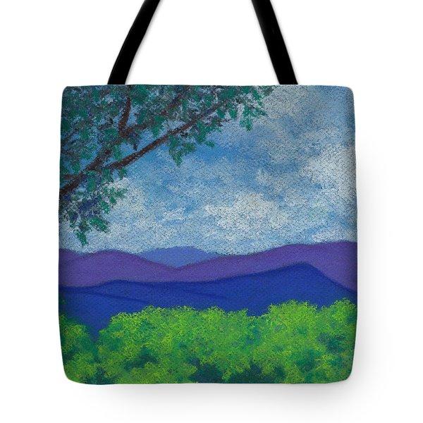 Blue Ridges 4 Tote Bag