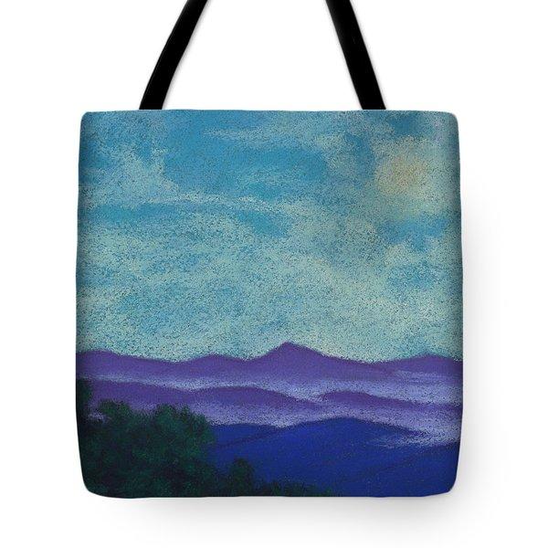 Blue Ridges Mist 1 Tote Bag