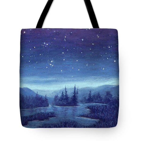 Blue River 01 Tote Bag