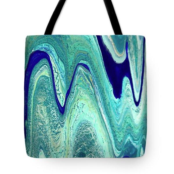 Blue Rivers Of Life Tote Bag