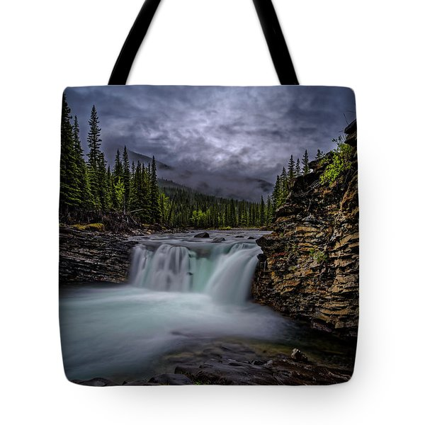 Blue Rock Tote Bag