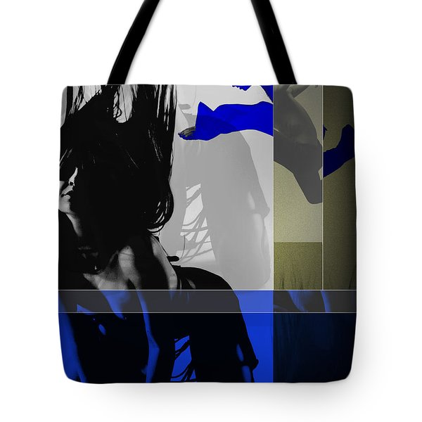 Blue Romance Tote Bag