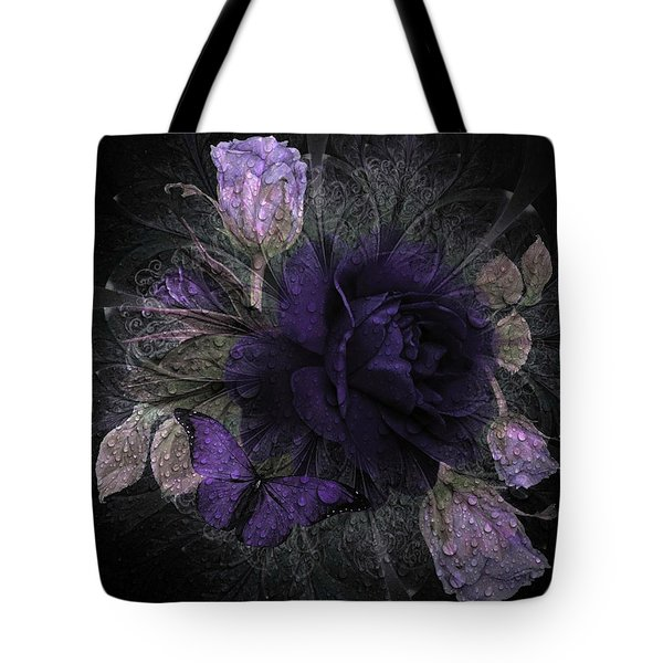 Blue Roses 02 Tote Bag