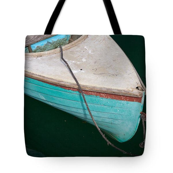 Blue Rowboat 1 Tote Bag by Susan Cole Kelly