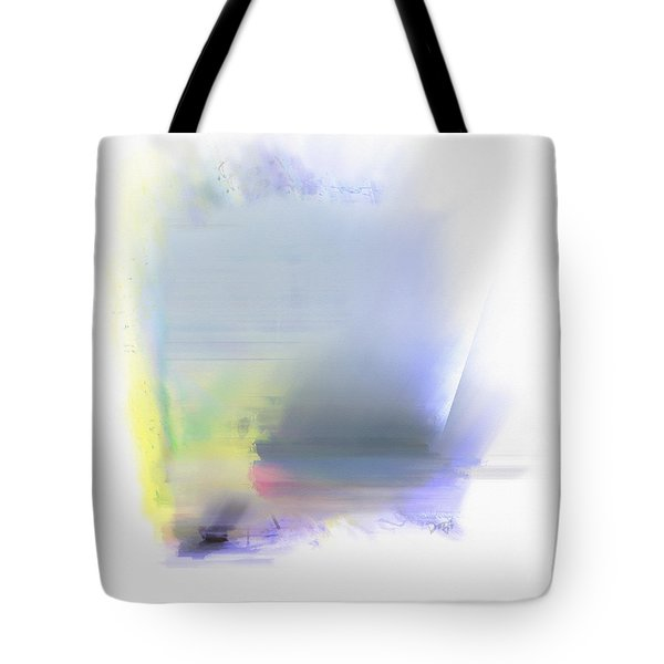 Blue Sails Tote Bag by Dee Flouton