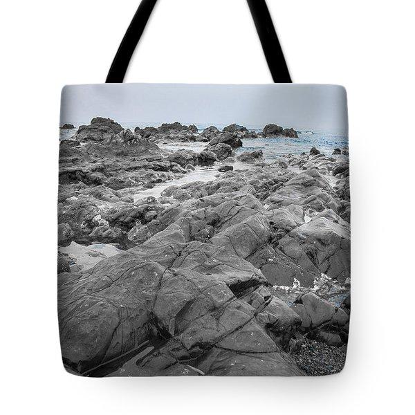 Blue Seascape Tote Bag