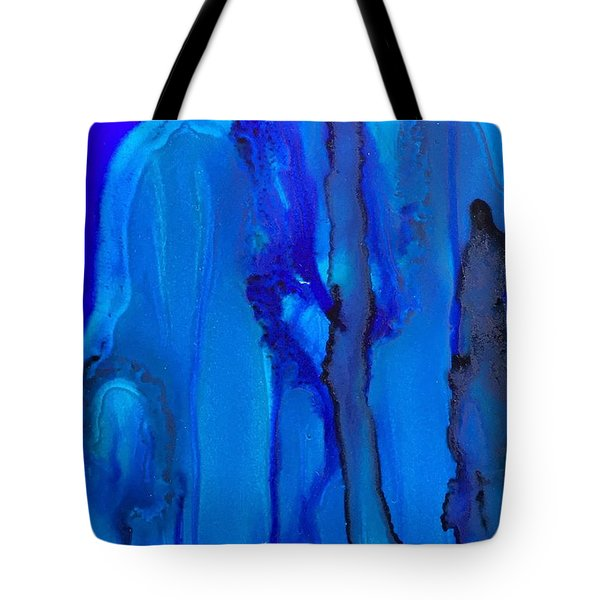 Blue Series  Tote Bag