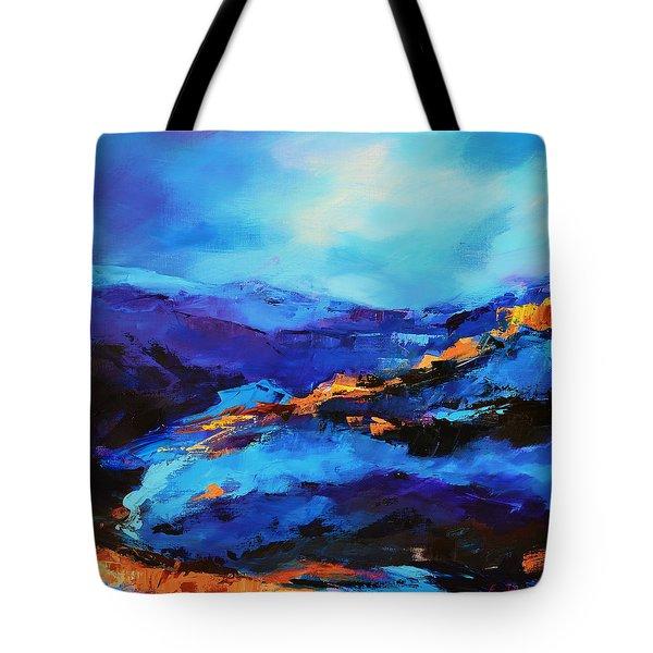 Blue Shades Tote Bag