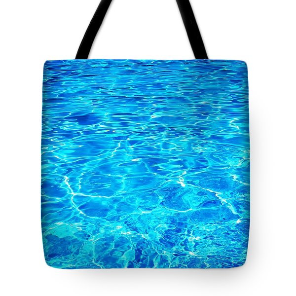 Tote Bag featuring the photograph Blue Shadow by Ramona Matei