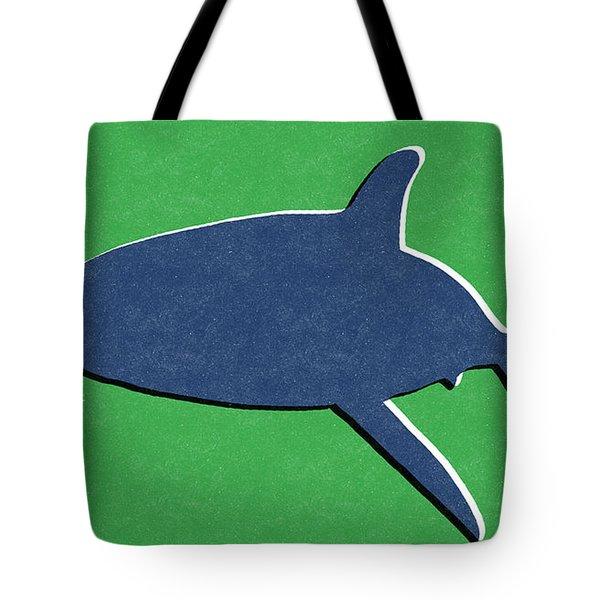 Blue Shark Tote Bag