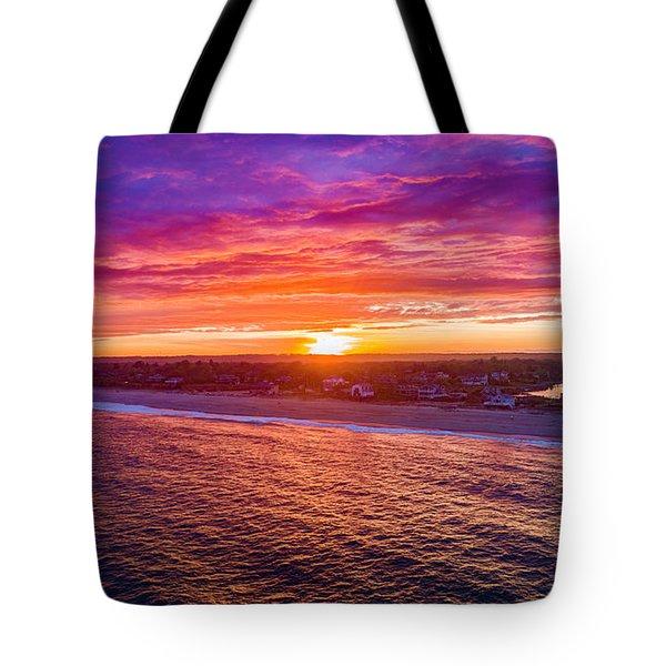 Blue Shutter East Beach Tote Bag