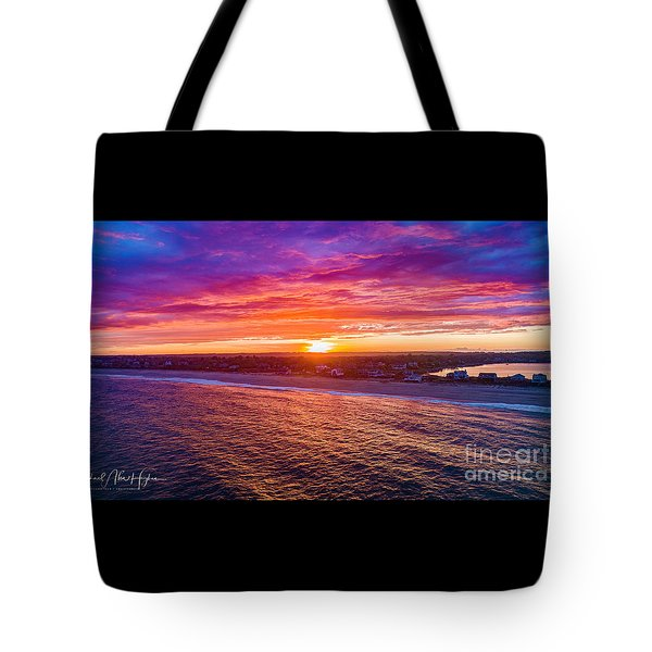 Blue Shutter East Beach Tote Bag
