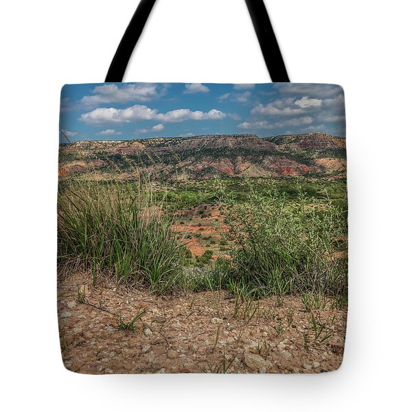 Blue Skies Over Palo Duro Canyon Tote Bag
