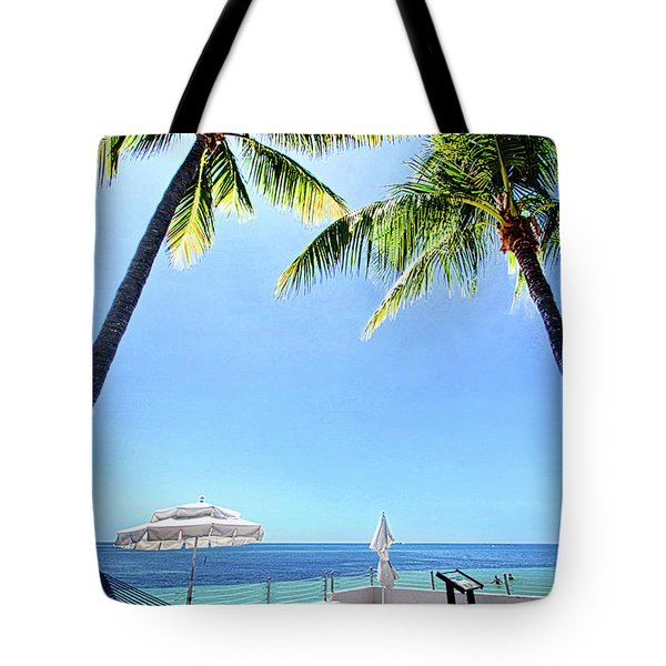 Tote Bag featuring the photograph Blue Sky Breezes by Phil Koch