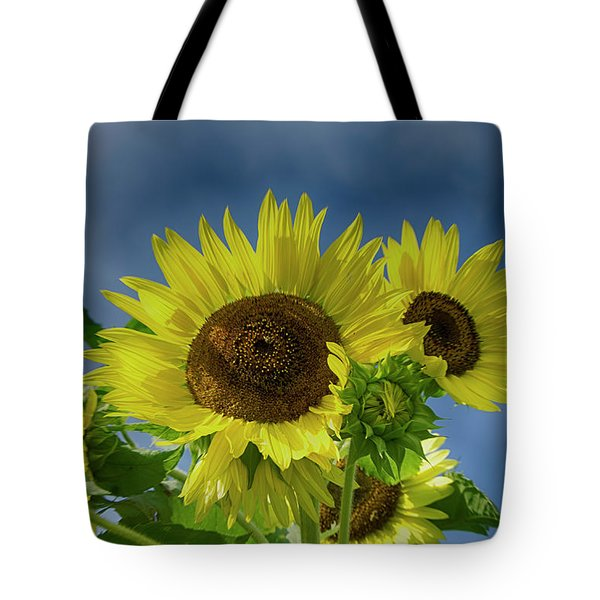 Blue Sky Day Tote Bag