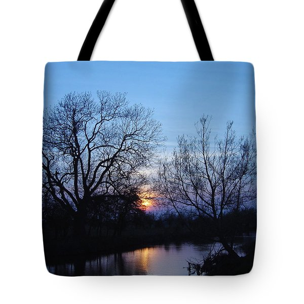 Tote Bag featuring the photograph Blue Sky by Elizabeth Lock