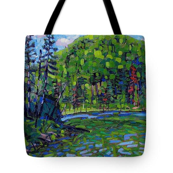 Blue Sky Greens Tote Bag