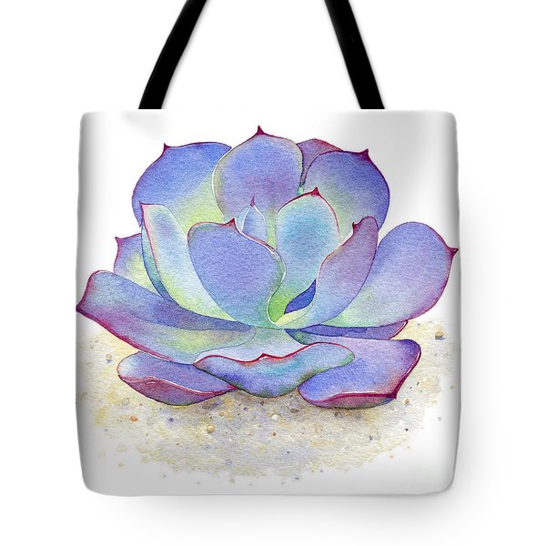 Blue Sky Succulent Tote Bag