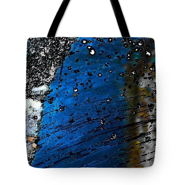 Blue Spectacular Tote Bag