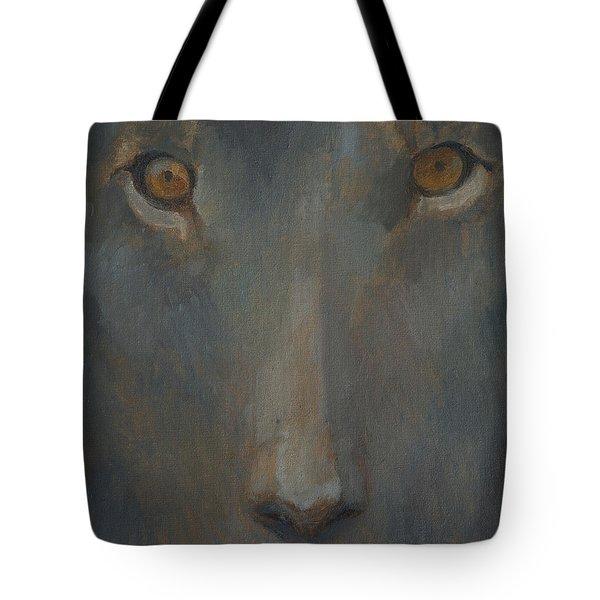 Blue Sphinx Tote Bag