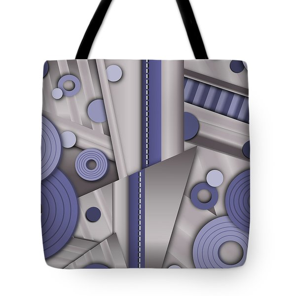 Blue Steel Tote Bag by Tara Hutton