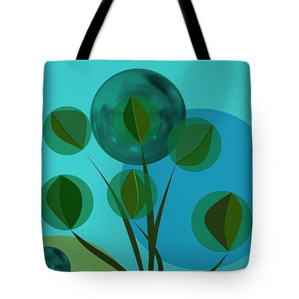 Blue Still Life Tote Bag