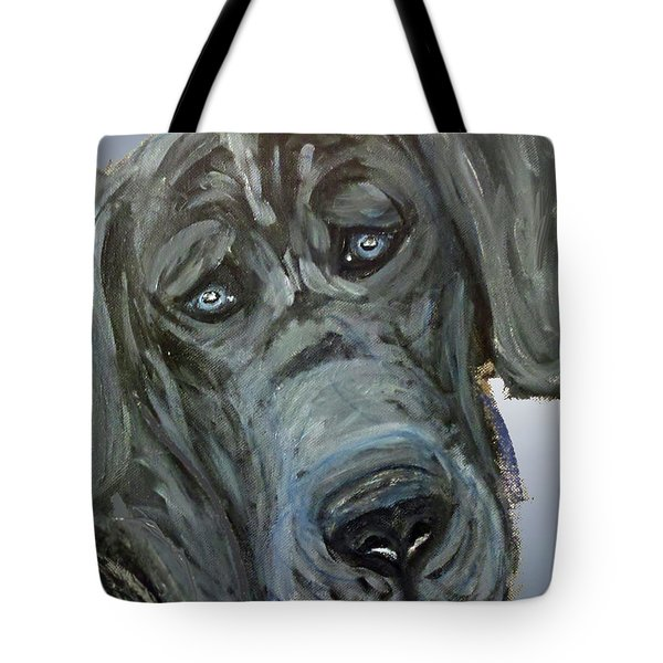 Blue Study  Tote Bag