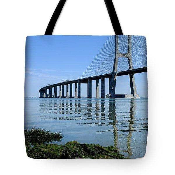 Blue Sunny Day II Tote Bag
