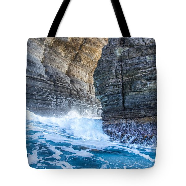 Blue Surge Tote Bag