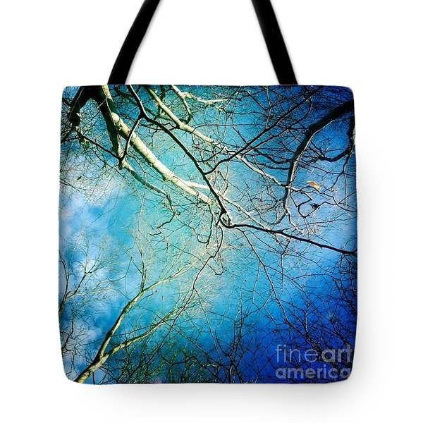 Blue Tones  Tote Bag
