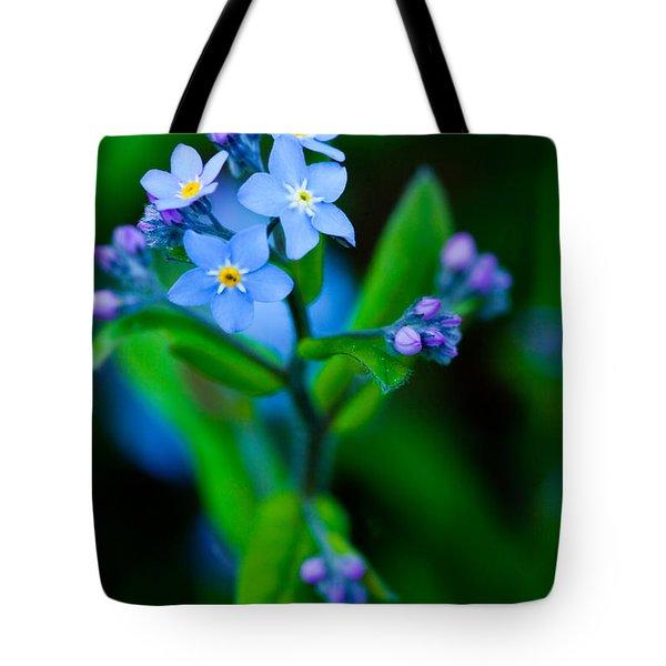 Blue Topper Tote Bag