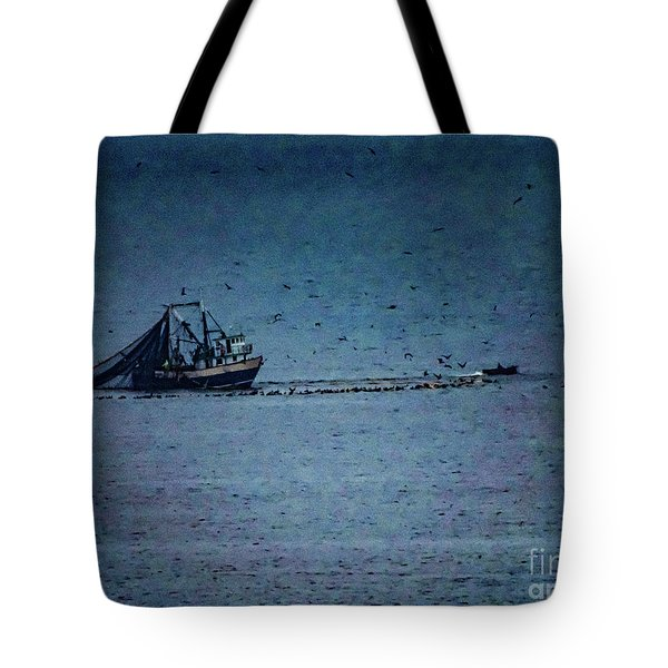 Blue Trawler 1 Tote Bag