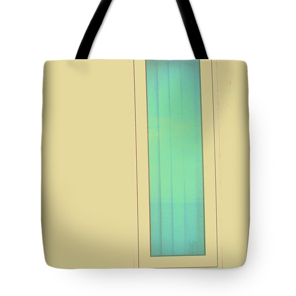 Blue  Tote Bag by Vanessa Palomino