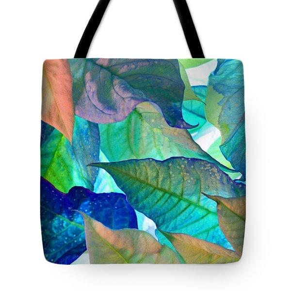 Blue Velvet Tote Bag by Bobby Villapando
