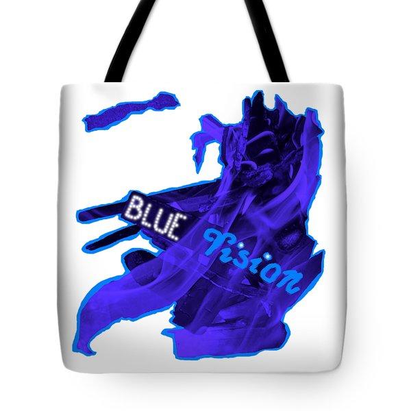 Blue Vision Tote Bag