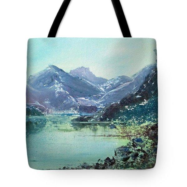 Blue Vista Two Tote Bag