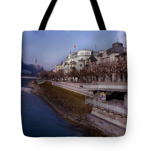 Blue Water Blue Sky Tote Bag